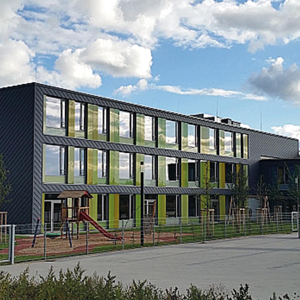 Coburg,-Neubau-Schule